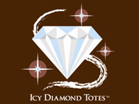 Icy Diamond Totes